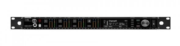 SHURE AD4QE - מסדרת AXIENT DIGITAL- מקלט ארבעה ערוצים >>  AD4D+ RECEIVER WITH CASCADE UP TO 2 RCVRS.